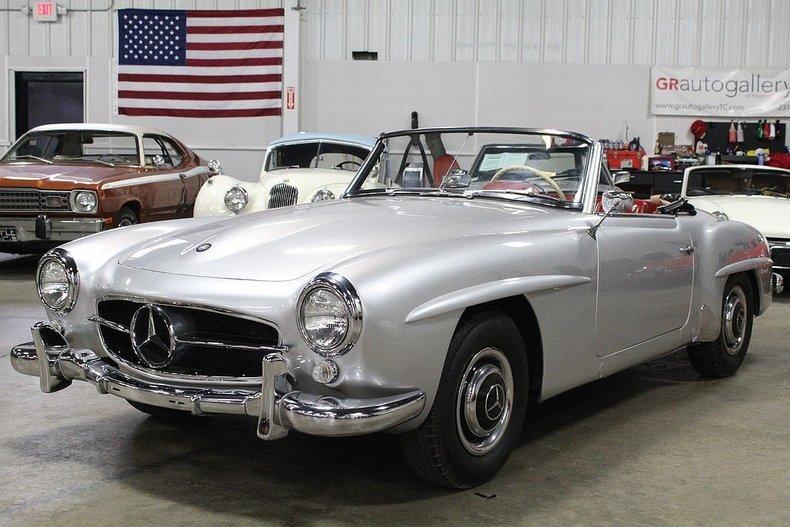 50944333f36ea0 low res 1958 mercedes 190 sl