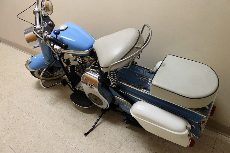 "Grand Rapids Auto Parts >> ""1959 Cushman Eagle Scooter"" 