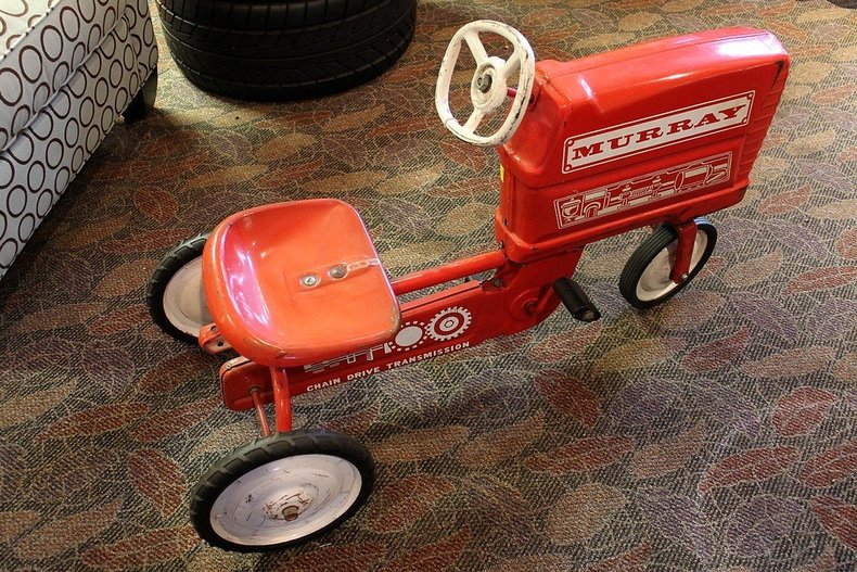 "Metro Auto Parts >> ""Murray Pedal Tractor with Trailer"" 
