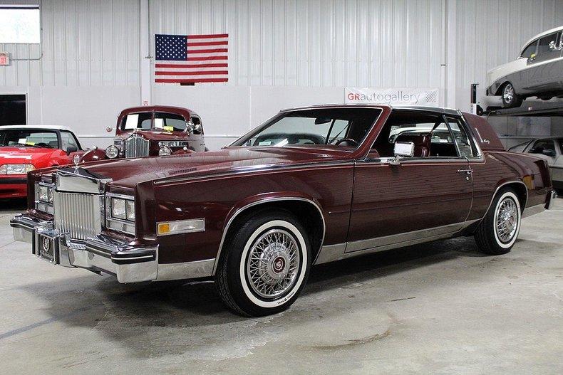 84 Cadillac Eldorado Automobil Bildideen