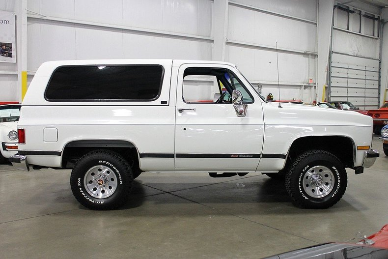 sell used 1989 gmc jimmy chevy blazer 8 077 original miles must see in grand rapids. Black Bedroom Furniture Sets. Home Design Ideas