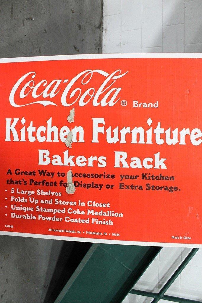 "Grand Rapids Auto Parts >> ""Coca-Cola Bakers Rack"" | GR Auto Gallery"