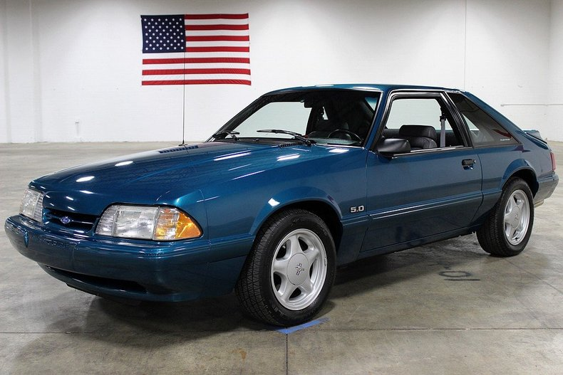 1993 Ford Mustang Gr Auto Gallery