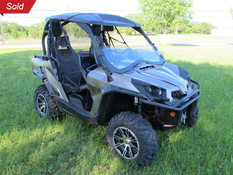 2014 Can Am Comander Limited