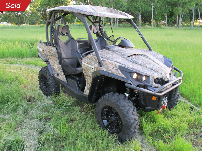 2015 Can Am Commander 800XT