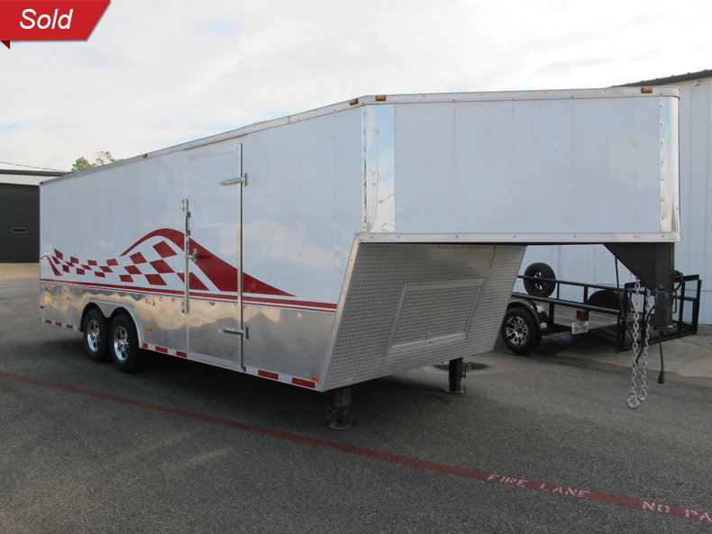 2011 Cyclone Hurricane Car hauler