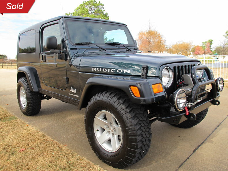 2005 jeep wrangler unlimited rubicon for sale 17808 mcg. Black Bedroom Furniture Sets. Home Design Ideas