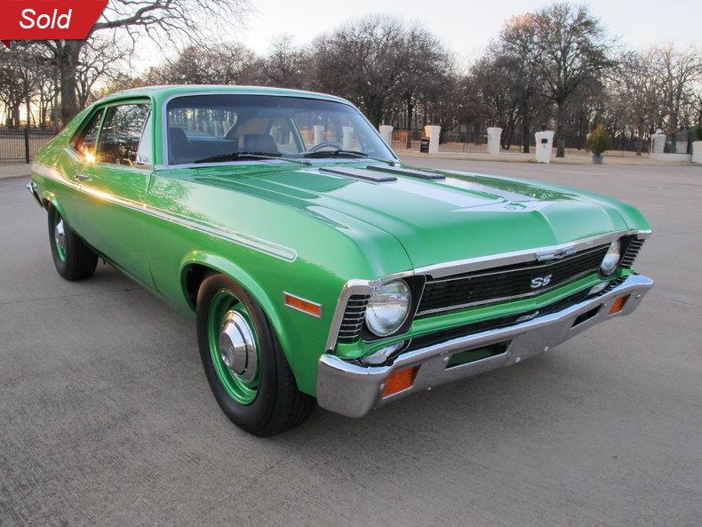 1972 Chevrolet Yenko Nova Tribute