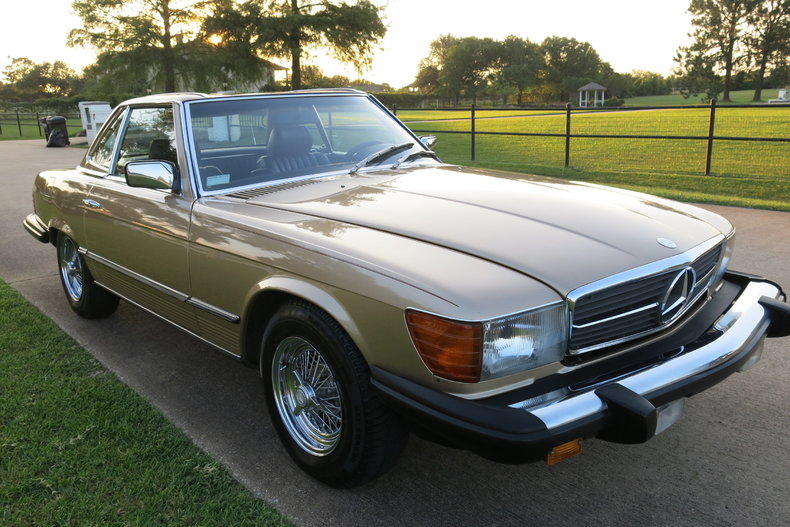 1982 Mercedes 380SL Roadster
