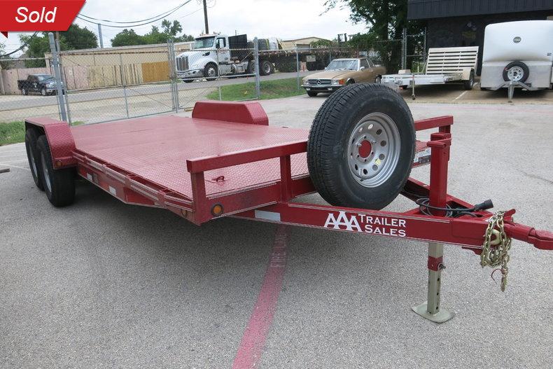 2017 East Texas Trailers 20' Dove tail car hauler