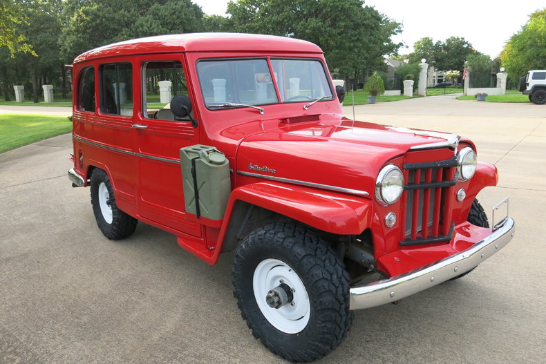 1956 Willys Wagon 4x4