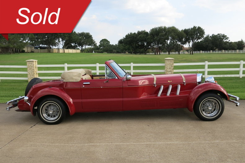 1980 Moselle Roadster Convertable