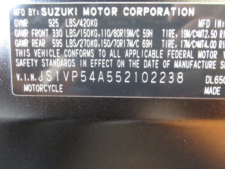 Suzuki Vehicle