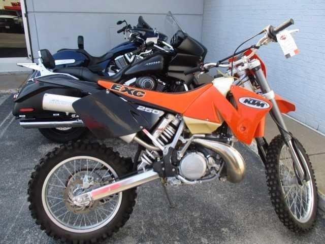 2002 KTM 250 EXC