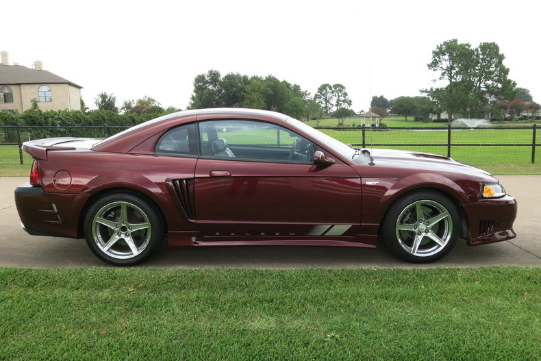2000 ford mustang saleen for sale 70019 mcg. Black Bedroom Furniture Sets. Home Design Ideas