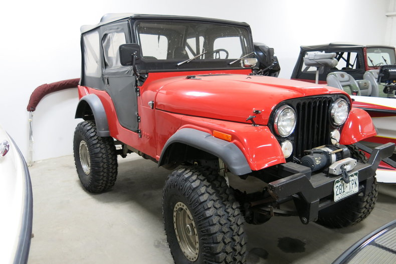 1975 Jeep CJ-5 Rock Crawler