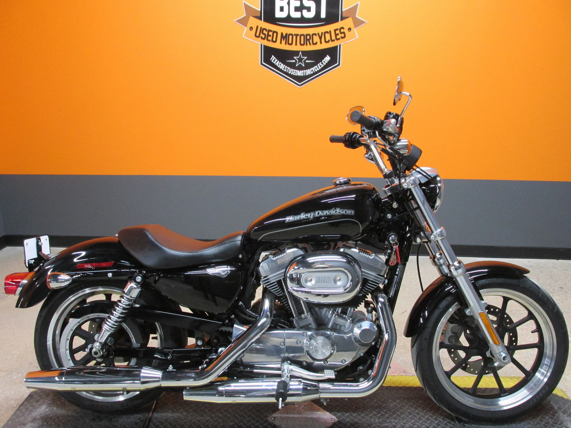 2015 harley davidson sportster 883 superlow xl883l for sale 76091 mcg. Black Bedroom Furniture Sets. Home Design Ideas