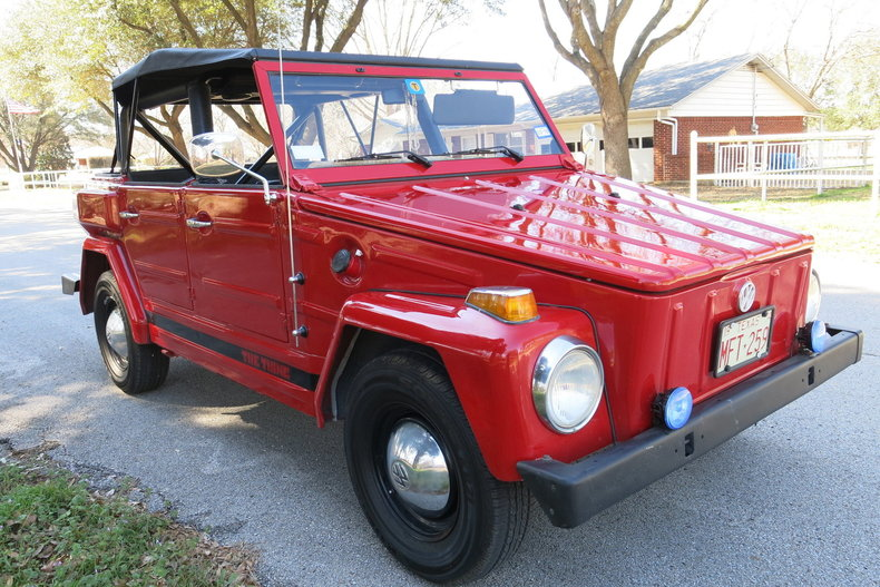 "1974 Volkswagen Type 181 - ""The Thing"""