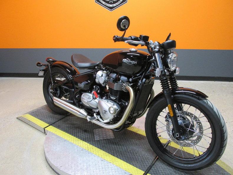 2018 Triumph Bonneville Bobber 1200cc For Sale 84033 Mcg
