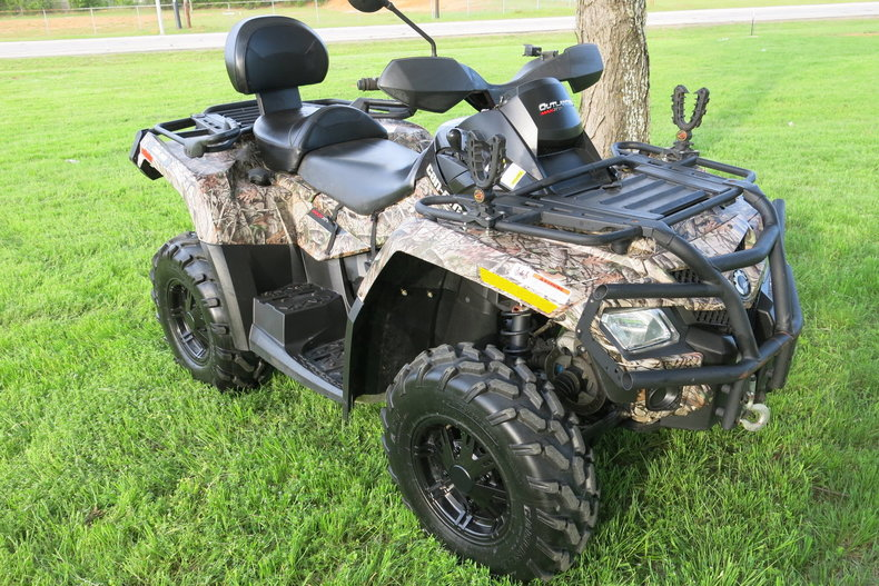 2011 Can-Am 500 Max XT