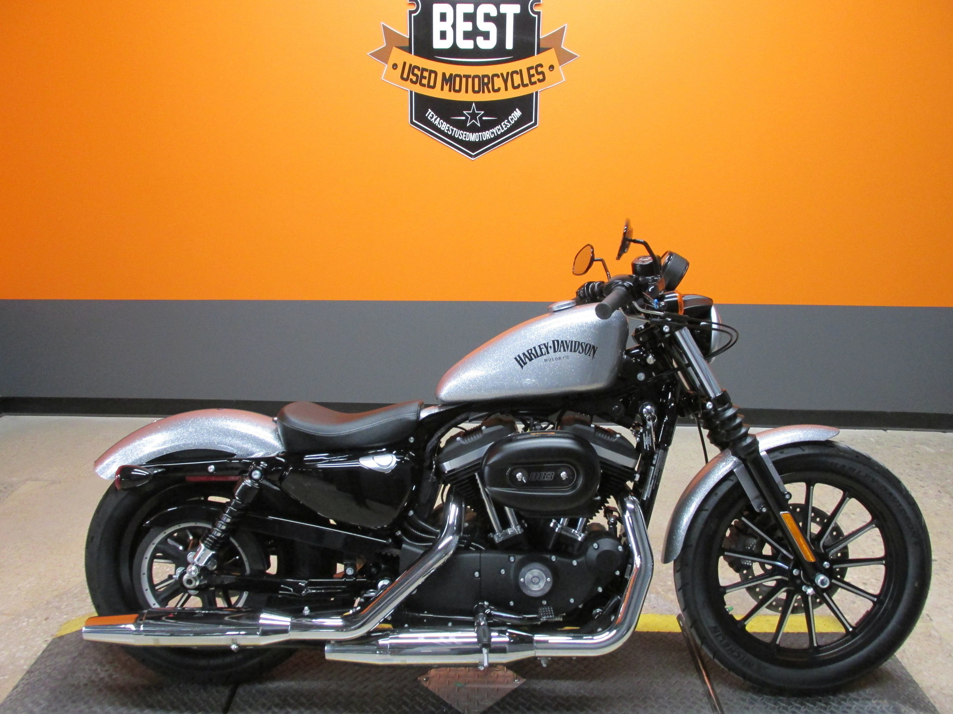 2015 harley davidson sportster 883 iron xl883n for sale. Black Bedroom Furniture Sets. Home Design Ideas