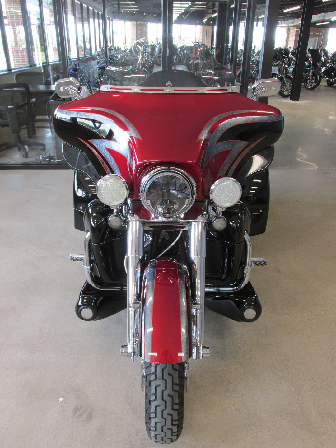 2012 Harley Davidson Tri Glide Berlin Motors Red For Sale