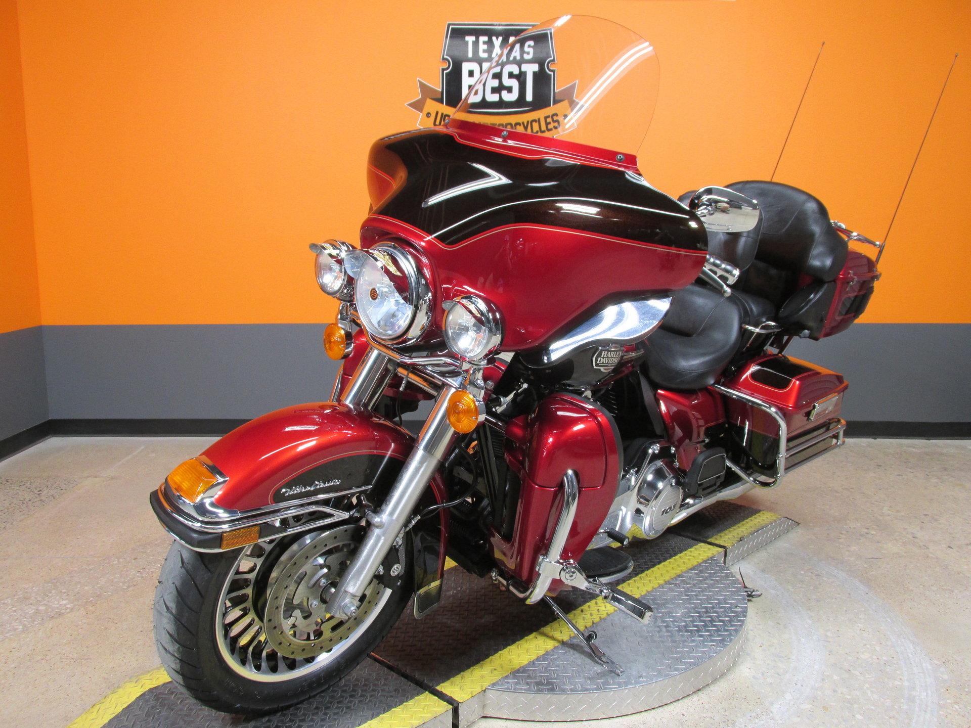 2012 Harley Davidson Ultra Classic Berlin Motors Red For Sale