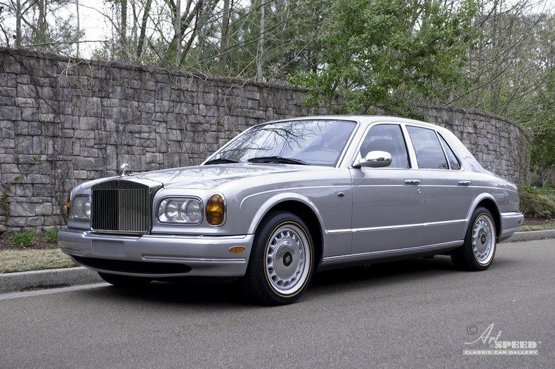 1999 Rolls Royce Silver Seraph Art Amp Speed Classic Car
