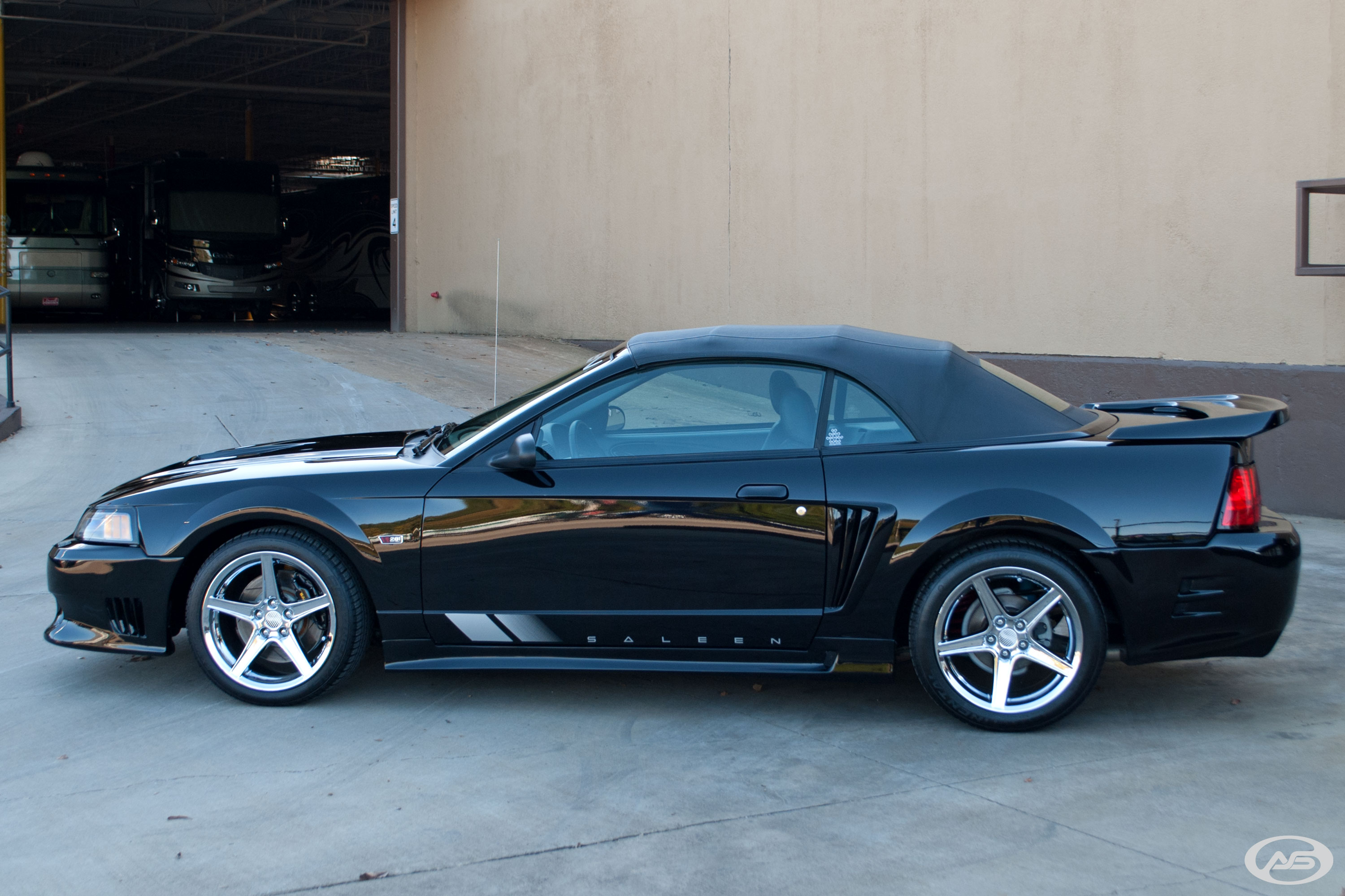 2004 saleen s281 s c mustang for sale 14908 mcg. Black Bedroom Furniture Sets. Home Design Ideas