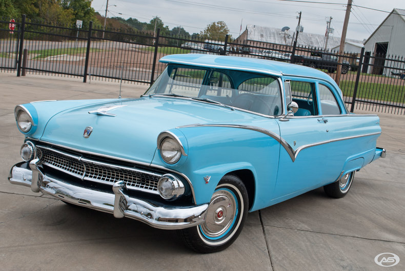 1955 Ford Fairlane Art Speed Classic Car Gallery In Memphis Tn