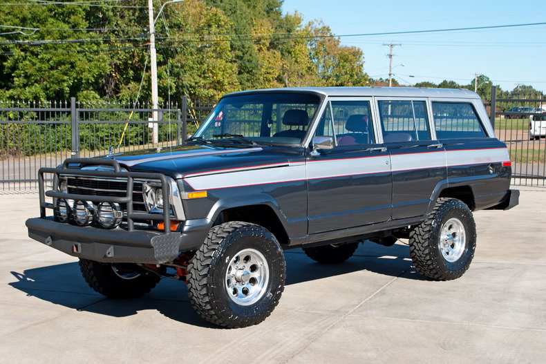 1988 Jeep Grand Wagoneer Art Amp Speed Classic Car Gallery