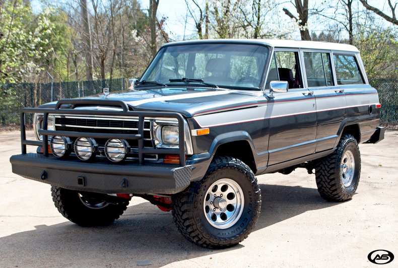 1988 Jeep Grand Wagoneer Art Amp Speed Classic Car Gallery