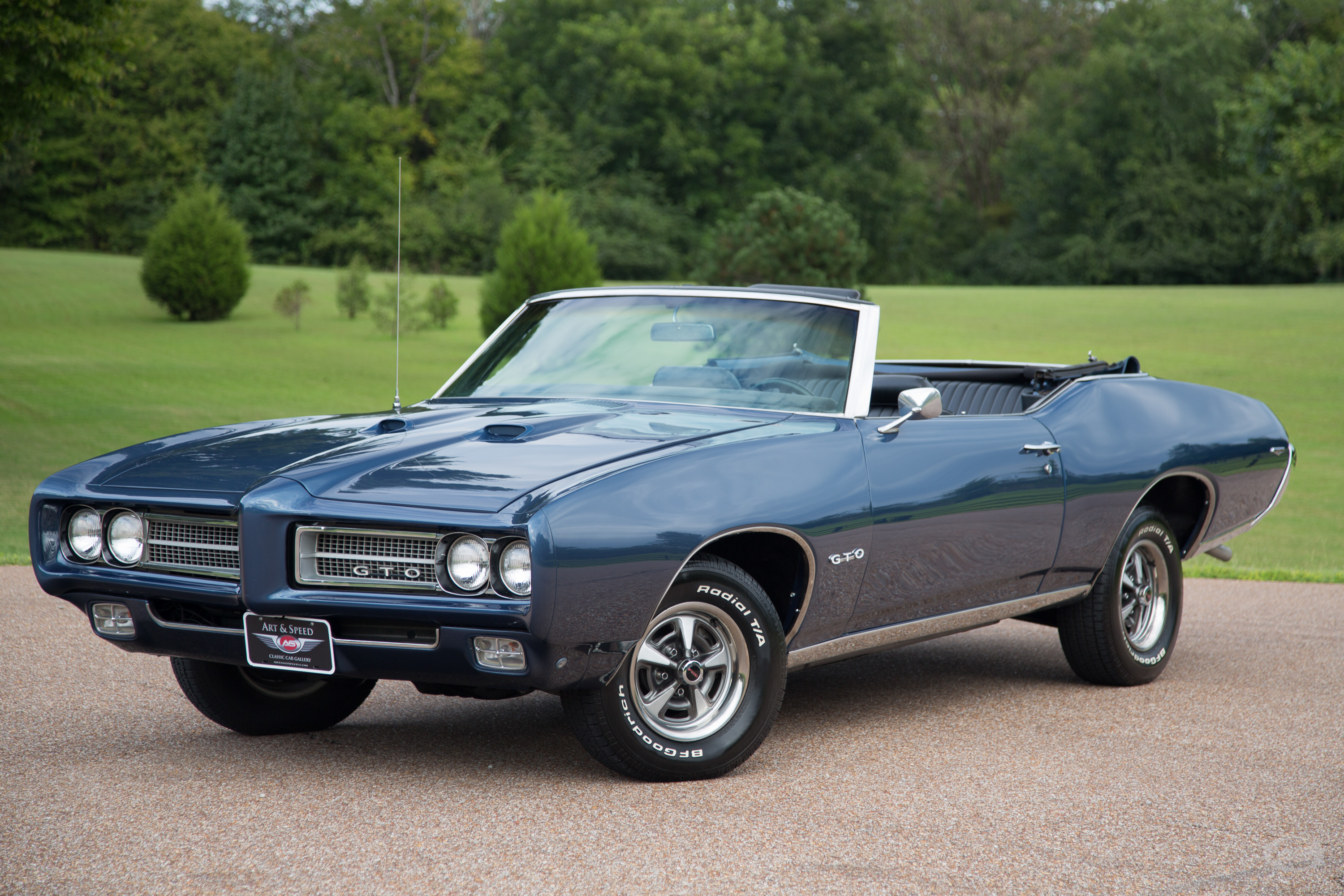Rebuild Automatic Transmission >> 1969 Pontiac GTO | Art & Speed Classic Car Gallery in Memphis, TN