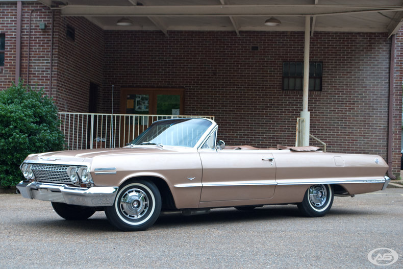 1963 chevy impala convertible