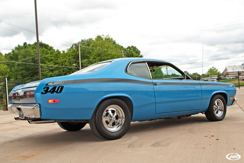 1972 Plymouth Duster Art Amp Speed Classic Car Gallery In