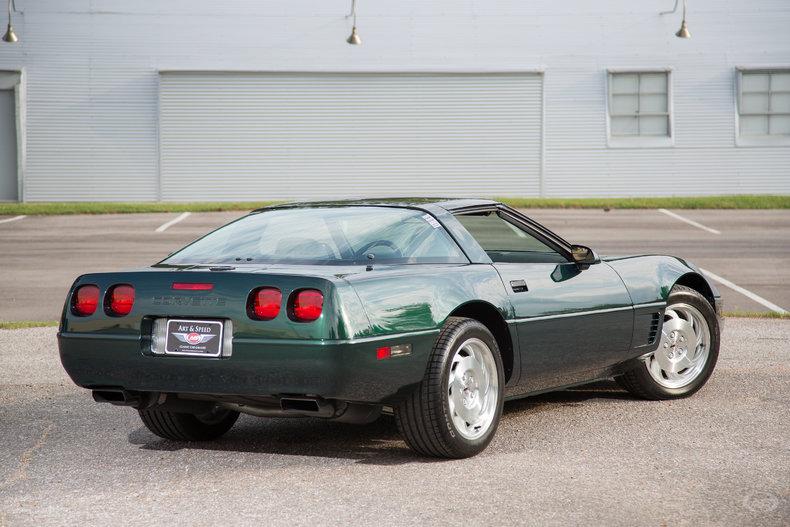 1996 Chevrolet Corvette Art Amp Speed Classic Car Gallery