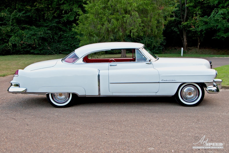 1950 cadillac coupe deville art speed classic car gallery in memphis tn. Black Bedroom Furniture Sets. Home Design Ideas