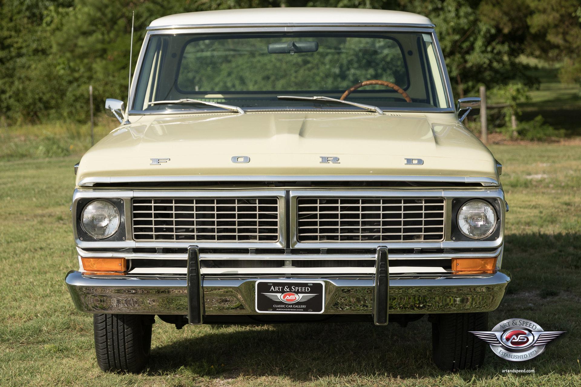 1970 Ford F100 Custom Sport Swb For Sale  92977