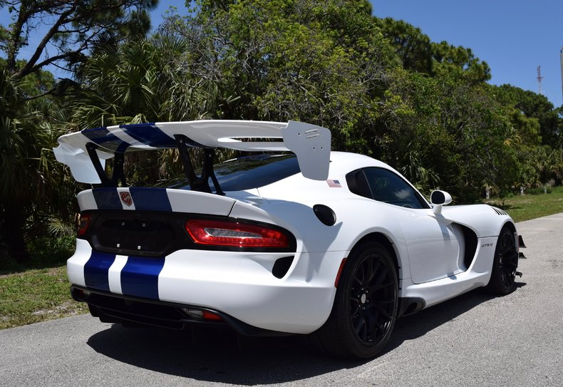 2017 Dodge Viper Gts R Final Edition For Sale 52599 Mcg