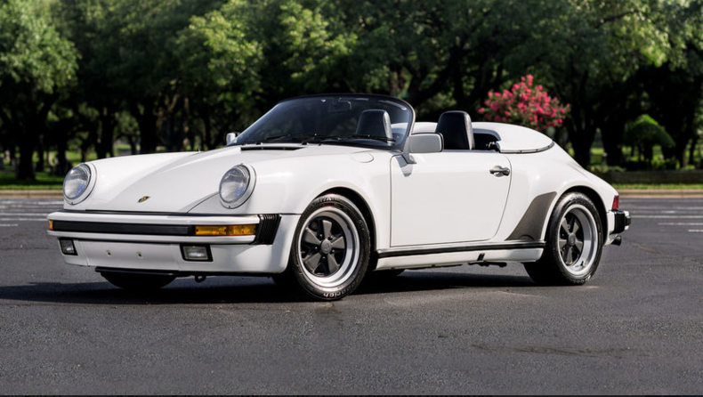 1989 Porsche 911 Speedster For Sale 65663 Mcg