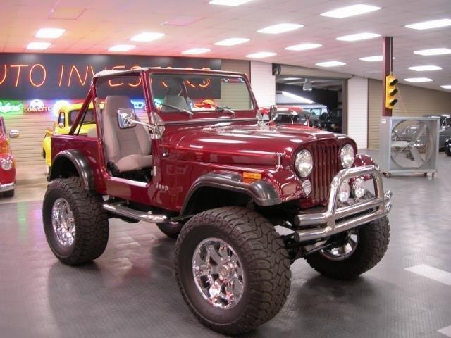 1984 jeep wrangler for sale 76918 mcg. Black Bedroom Furniture Sets. Home Design Ideas