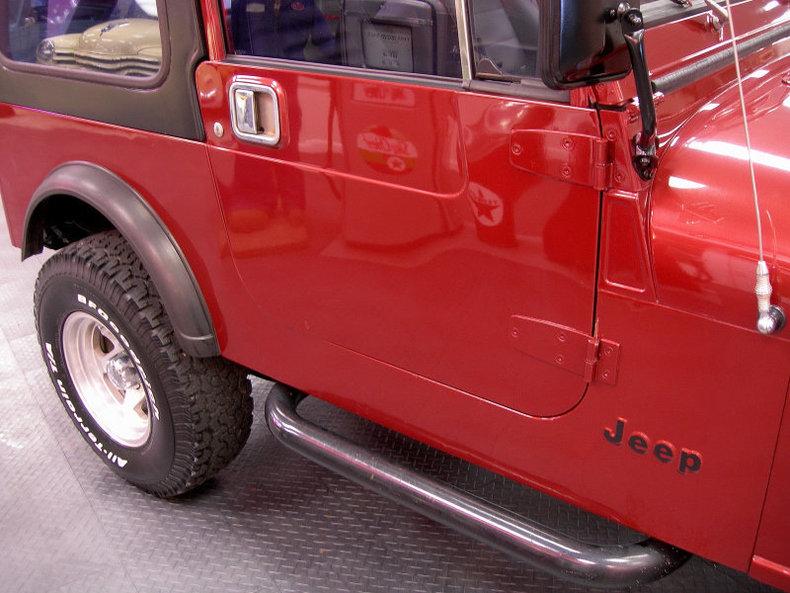 For Sale 1986 Jeep CJ-7