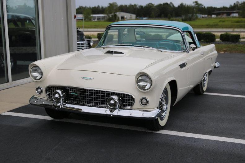 1956 Ford Thunderbird Burnyzz American Classic Horse Power