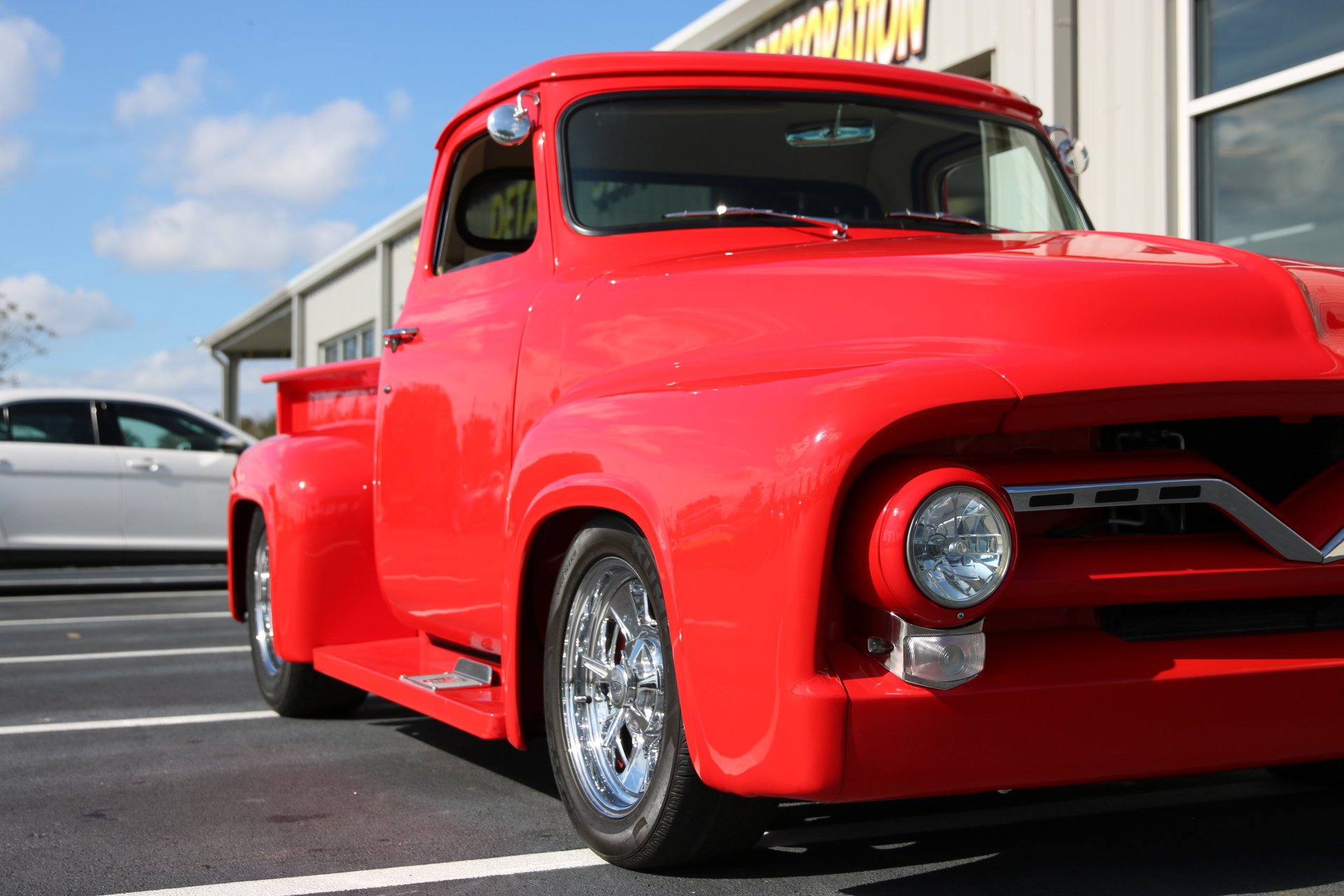 1955 Ford F100 For Sale 76226 Mcg Wheels