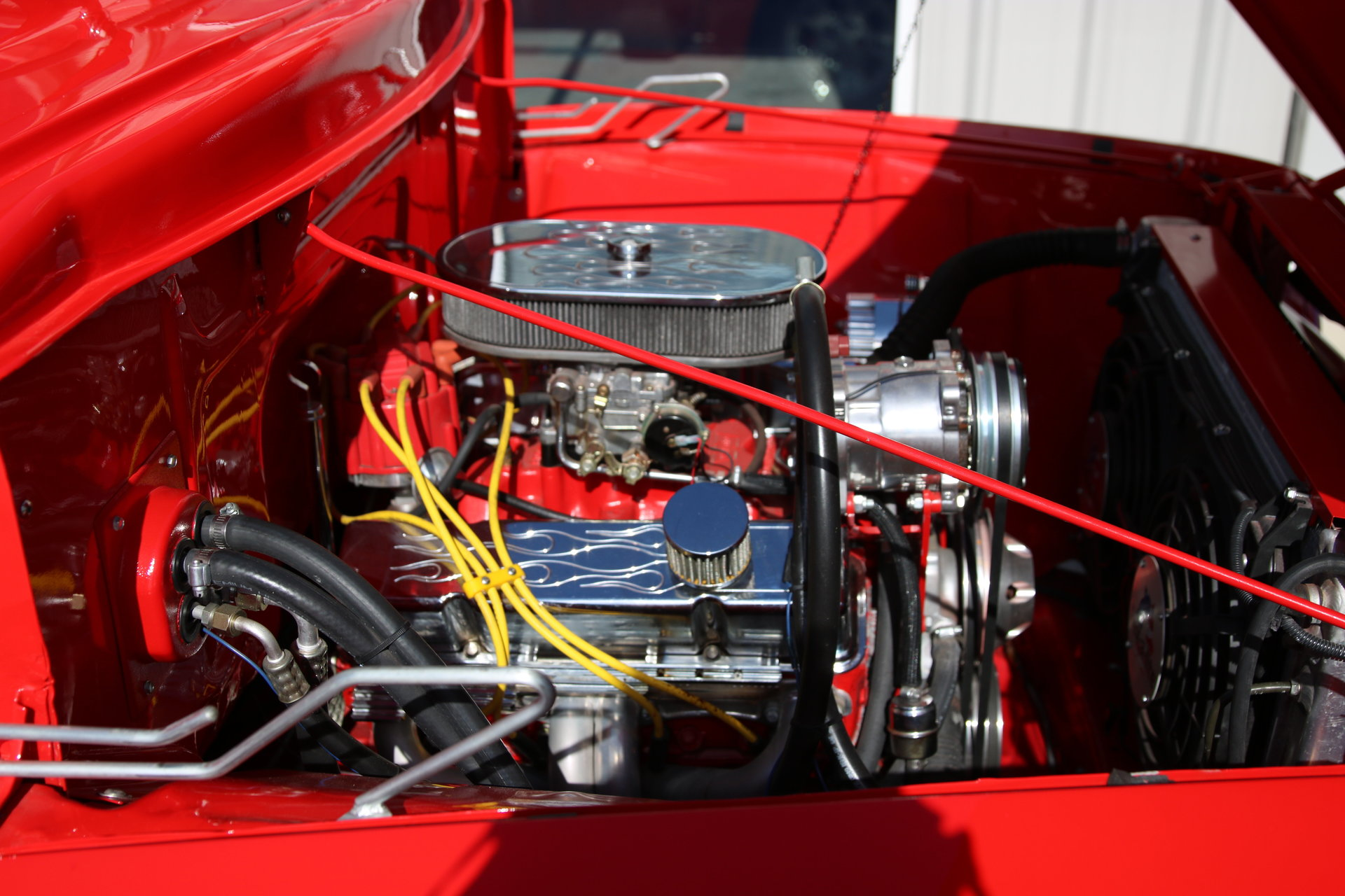 1955 Ford F100 For Sale 76226 Mcg Red