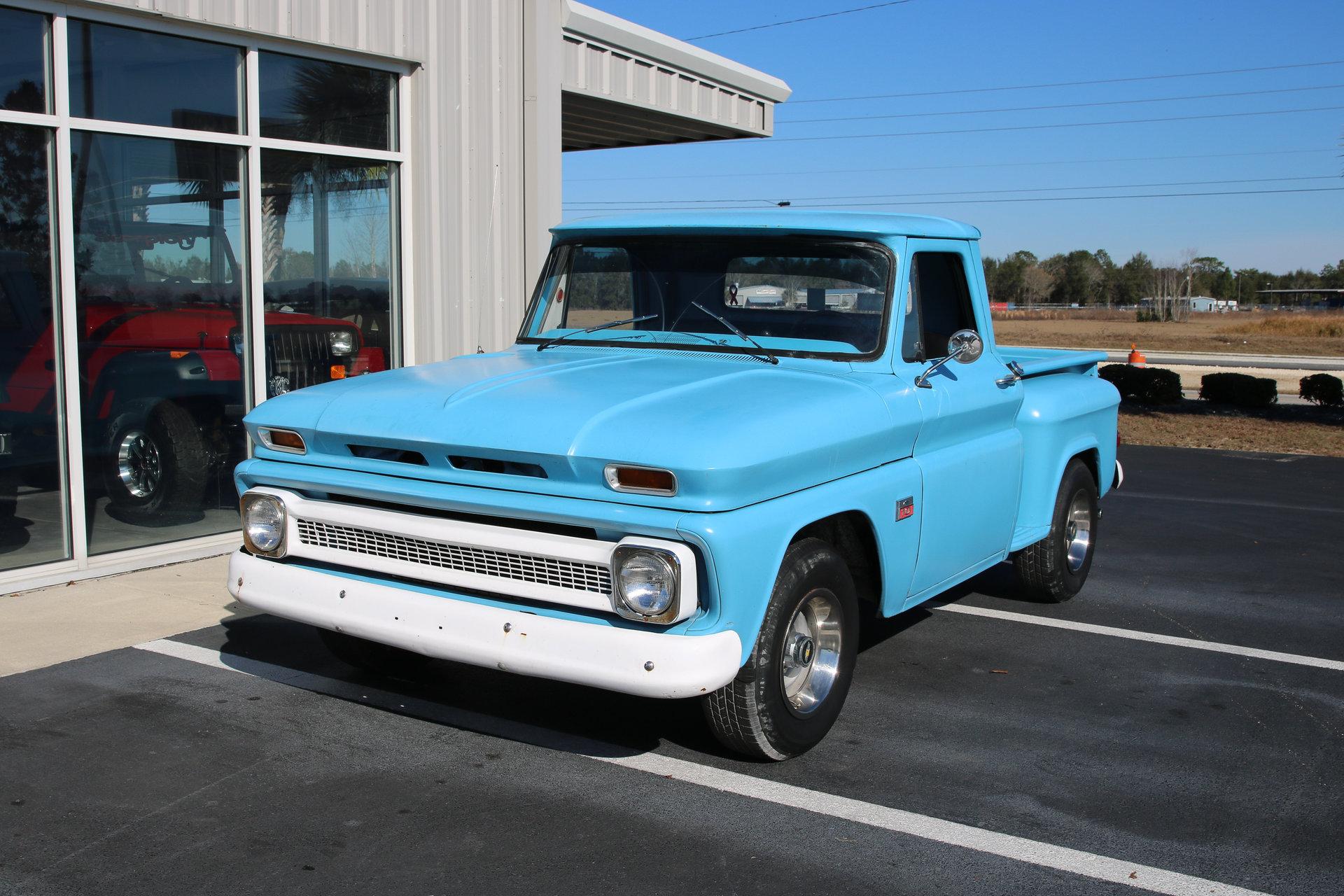 1966 Chevrolet 1500 Burnyzz American Classic Horse Power Pickup Truck