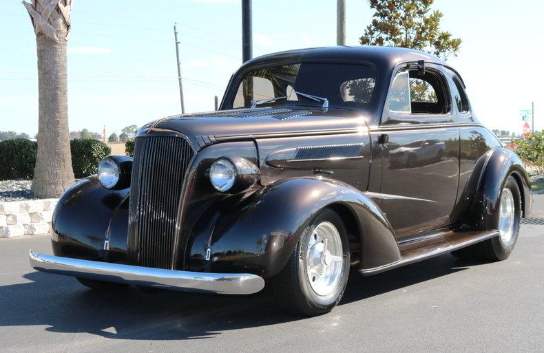 1937 Chevrolet 5 Window Coupe Burnyzz American Classic
