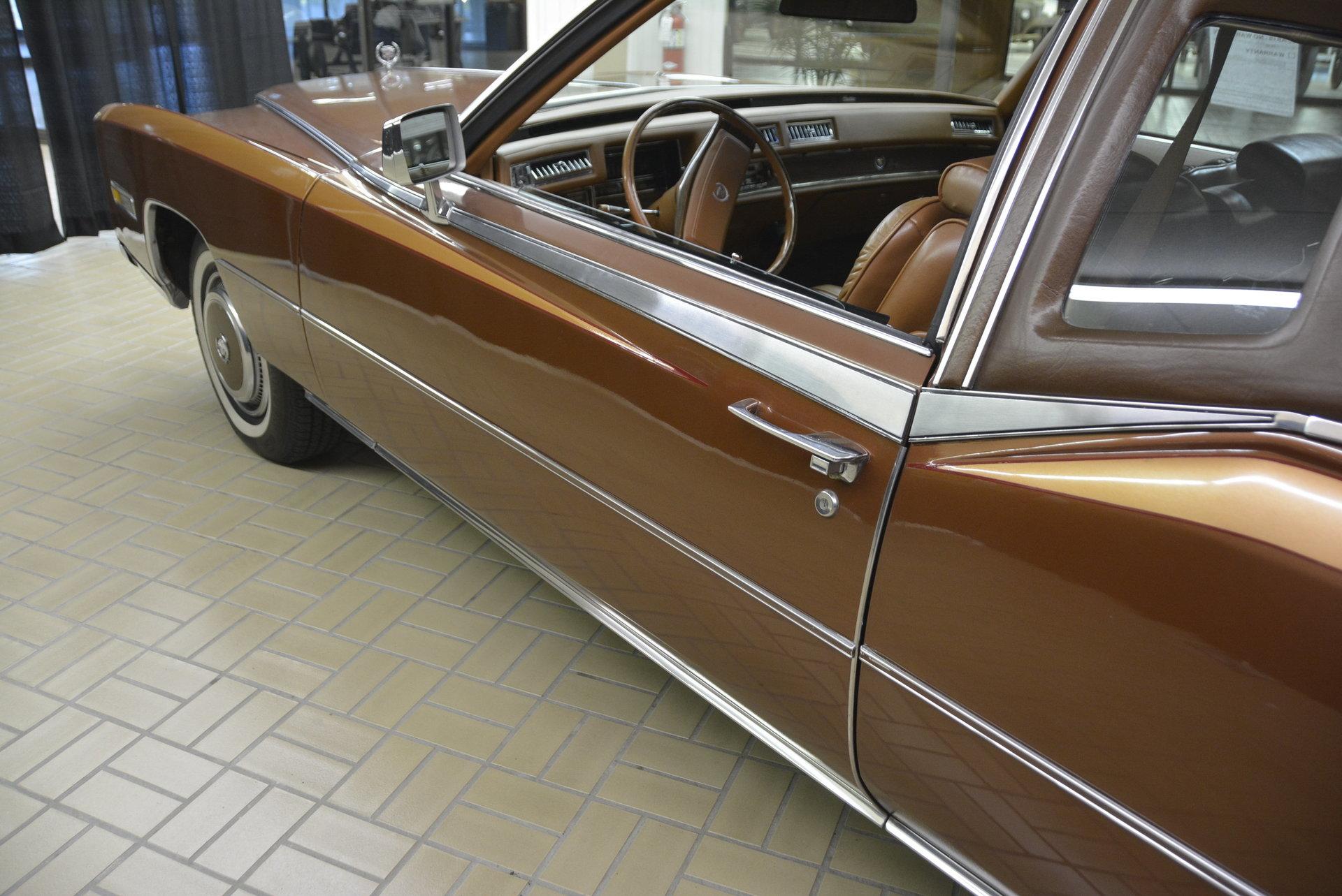 1978 Cadillac Eldorado Classic Auto Mall Sedan Deville 4 Door Biarritz