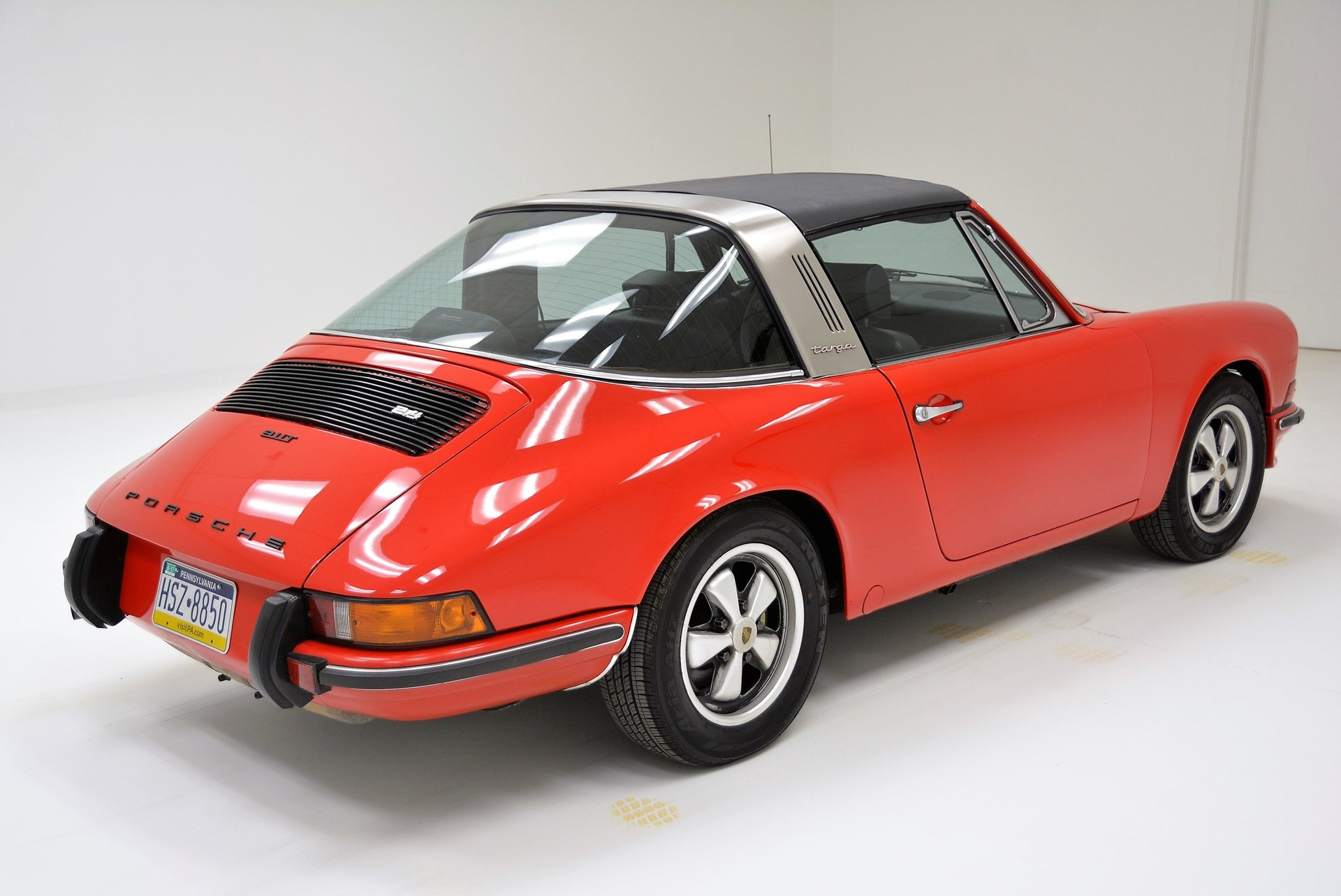 1973 porsche 911 t targa for sale 83294 mcg. Black Bedroom Furniture Sets. Home Design Ideas