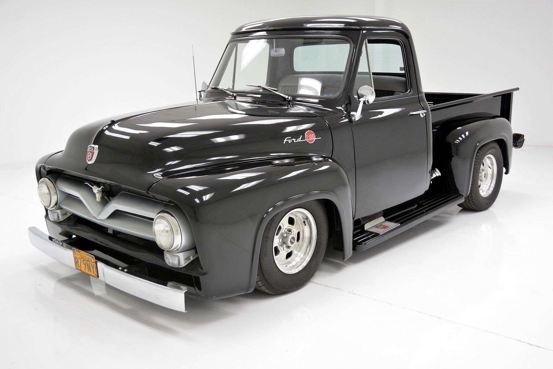 1955 Ford F100 Berlin Motors Interior For Sale